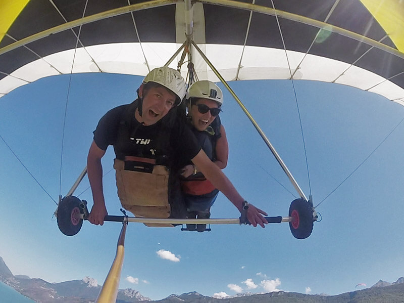 experience sensation deltaplane
